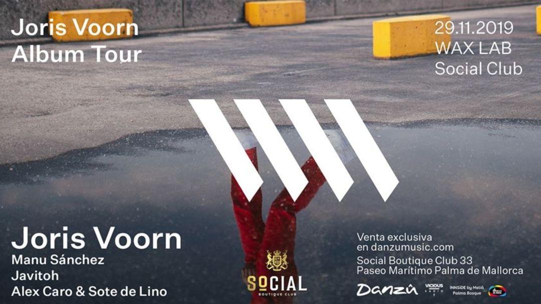 Wax LAB presents: Joris Voorn at Social Club event cover