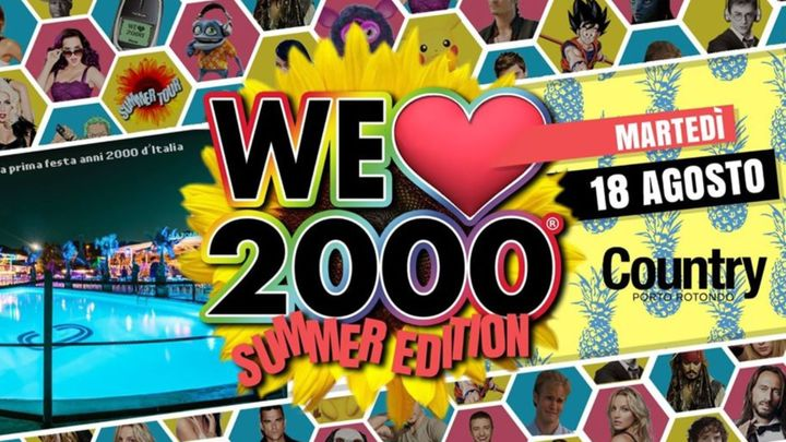 Cover for event: We Love 2000 | Country Club