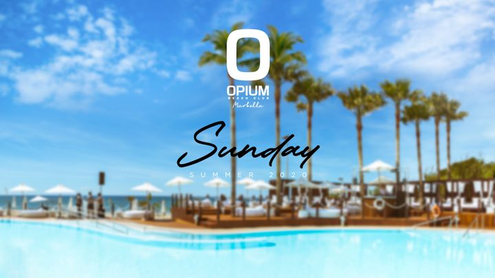 Cover for event: We're Back - Opium Marbella 2020 - Domingo