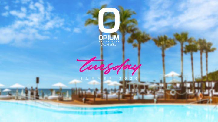 Cover for event: We're Back! - Opium Marbella 2020 - Martes