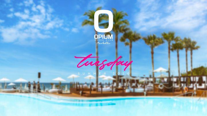 Cover for event: We're Back - Opium Marbella 2020 - Martes