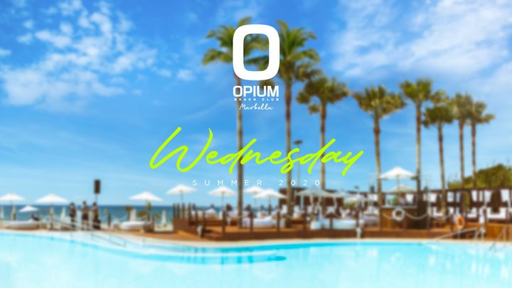 Cover for event: We're Back - Opium Marbella 2020 - Miércoles