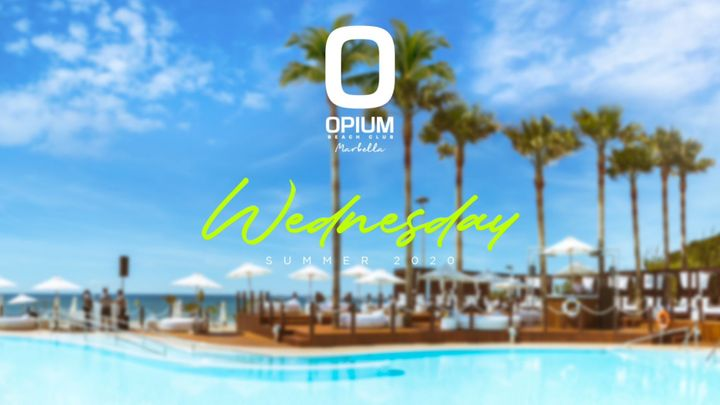 Cover for event: We're Back - Opium Marbella 2020 - Miercoles