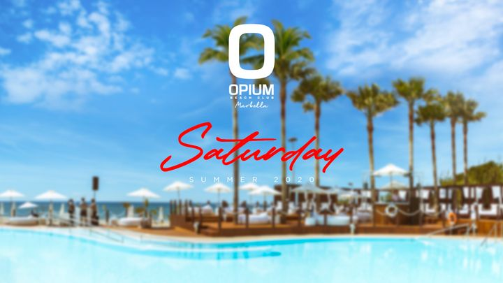 Cover for event: We're Back - Opium Marbella 2020 - Sábado