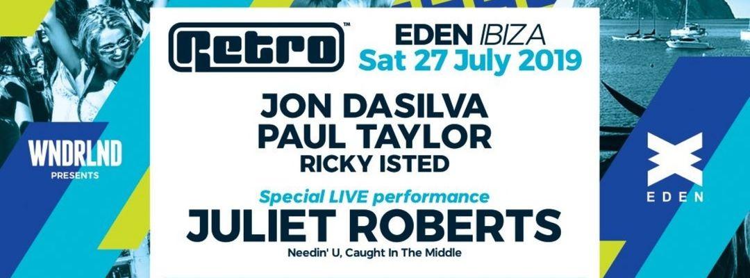 Capa do evento WNDRLND presents Retro at Eden IBIZA