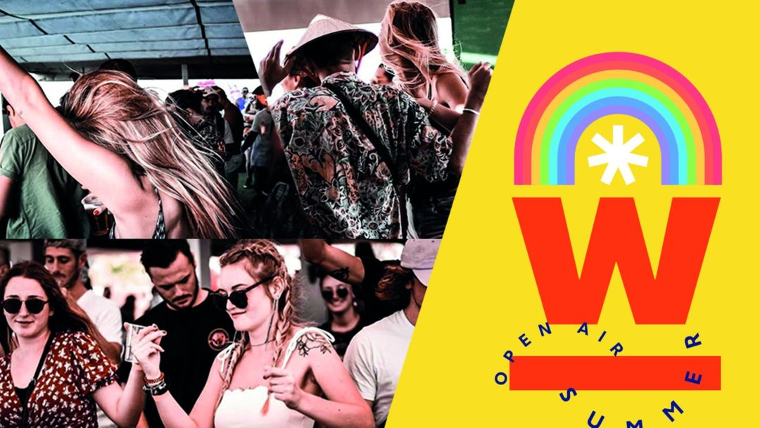 Wonderday OpenAir - Opening Party - Domaine du Petit Chaumont-Eventplakat