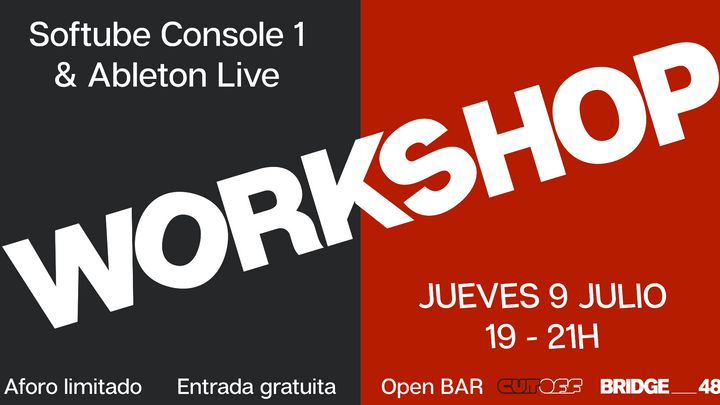 Cover for event: Workshop Console 1 y Ableton Live en Bridge_48