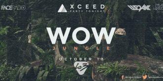 Cartel del evento WOW JUNGLE @ LA3 CLUB | 17 OCTOBER 2014