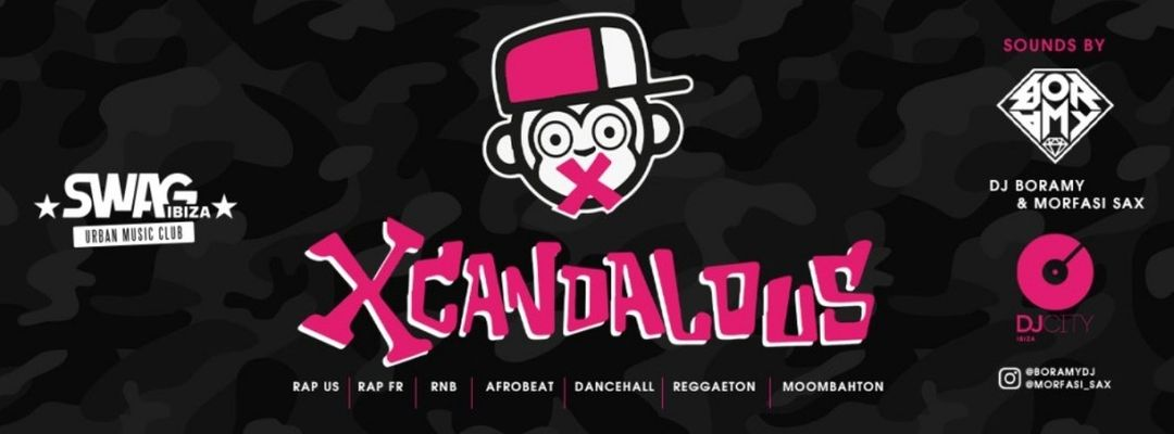 Cartel del evento Xcandalous Thursdays! the night you will dance all night
