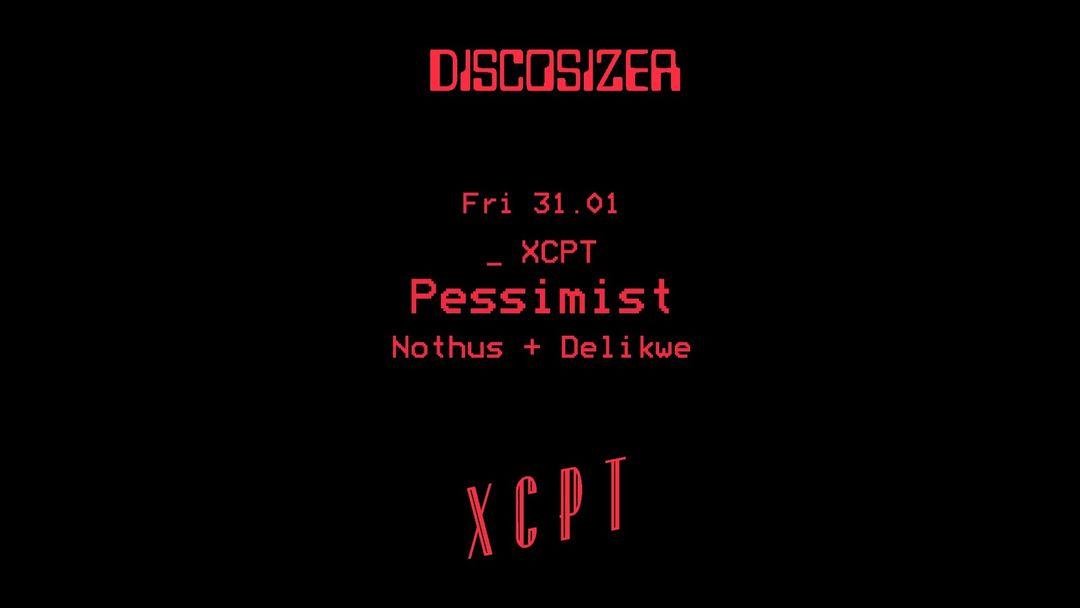 Copertina evento XCPT _ Pessimist