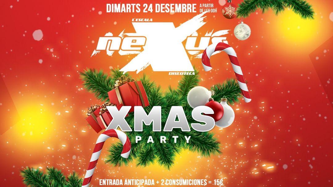 XMAS Party-Eventplakat