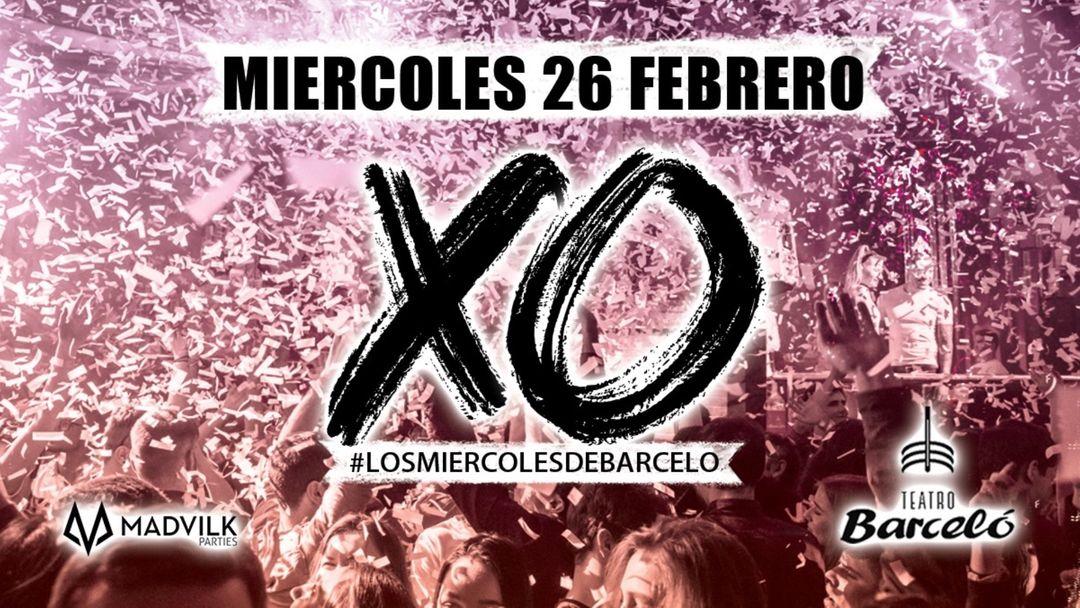 XO Party @ TEATRO BARCELO ( Open bar  ) event cover