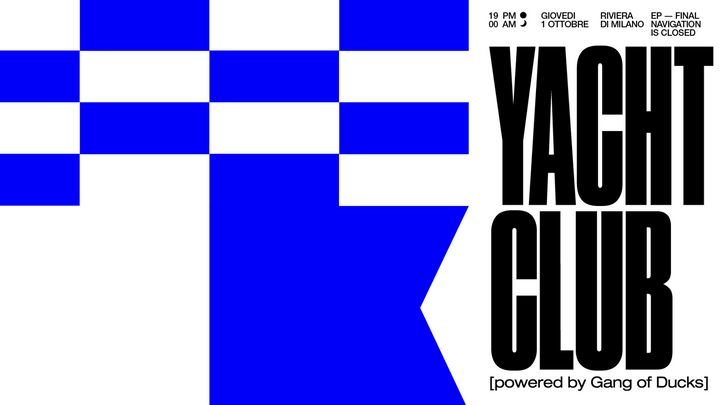Cover for event: Yatch Club - Ultimo Episodio @Bunker