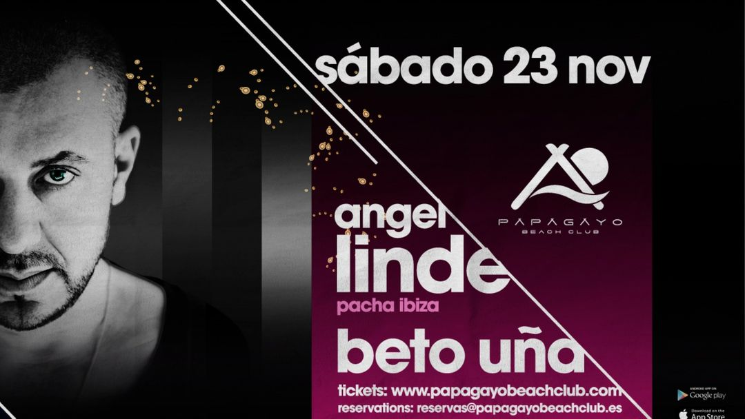 Cartel del evento 'Yes I Do' with Angel Linde
