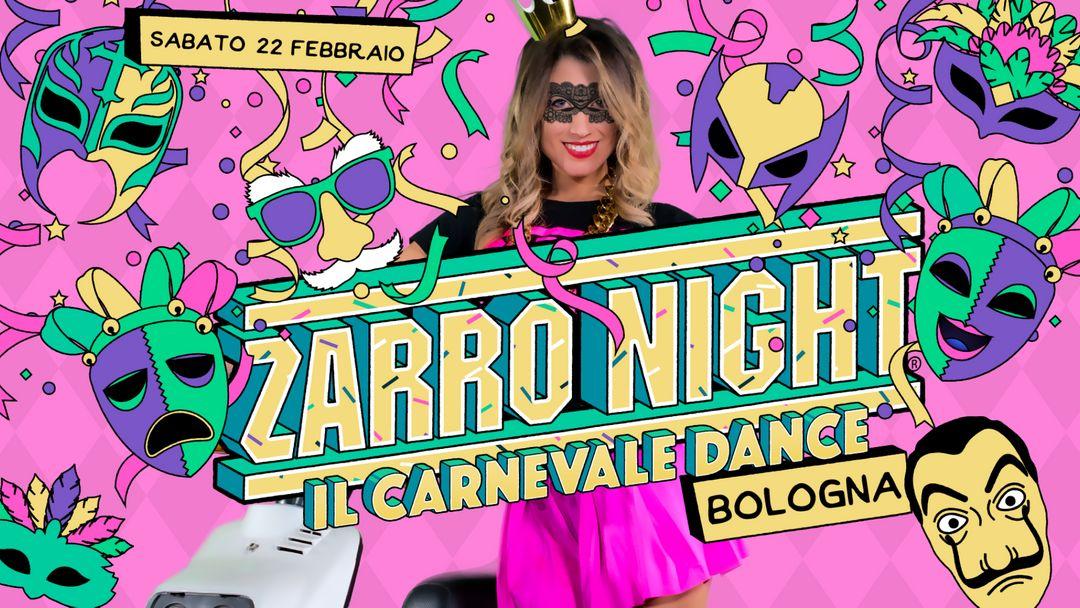 Cartell de l'esdeveniment Zarro Night® • Bologna ⁍ Estragon Club