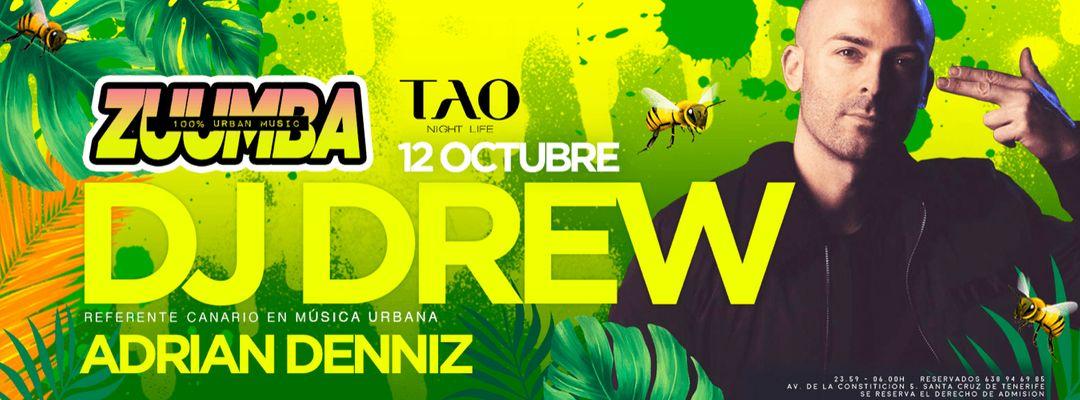 Capa do evento ZUUMBA- DJ DREW