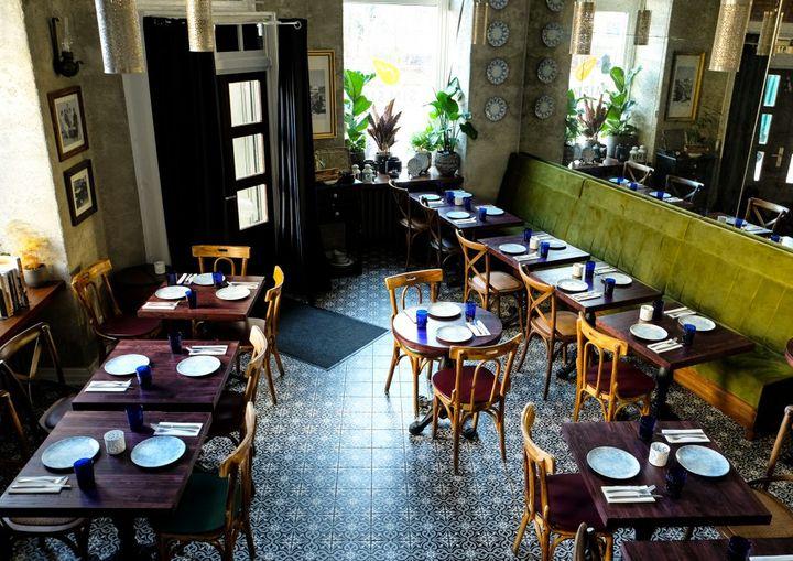 Cover for venue: simsim levantine eatery