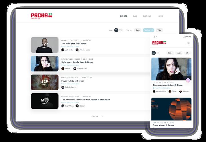 Atractives pàgines web i formularis personalitzats.